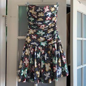Dresses & Skirts - 1980s Vintage Victor Costa Tube Dress-S